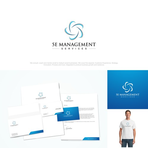 Logo design for 5E Management Services