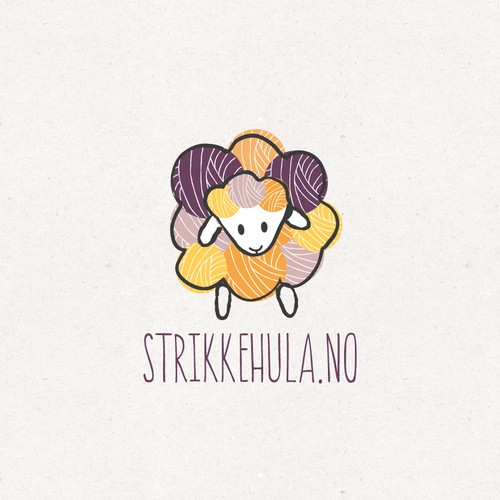 Knitting webshop logo