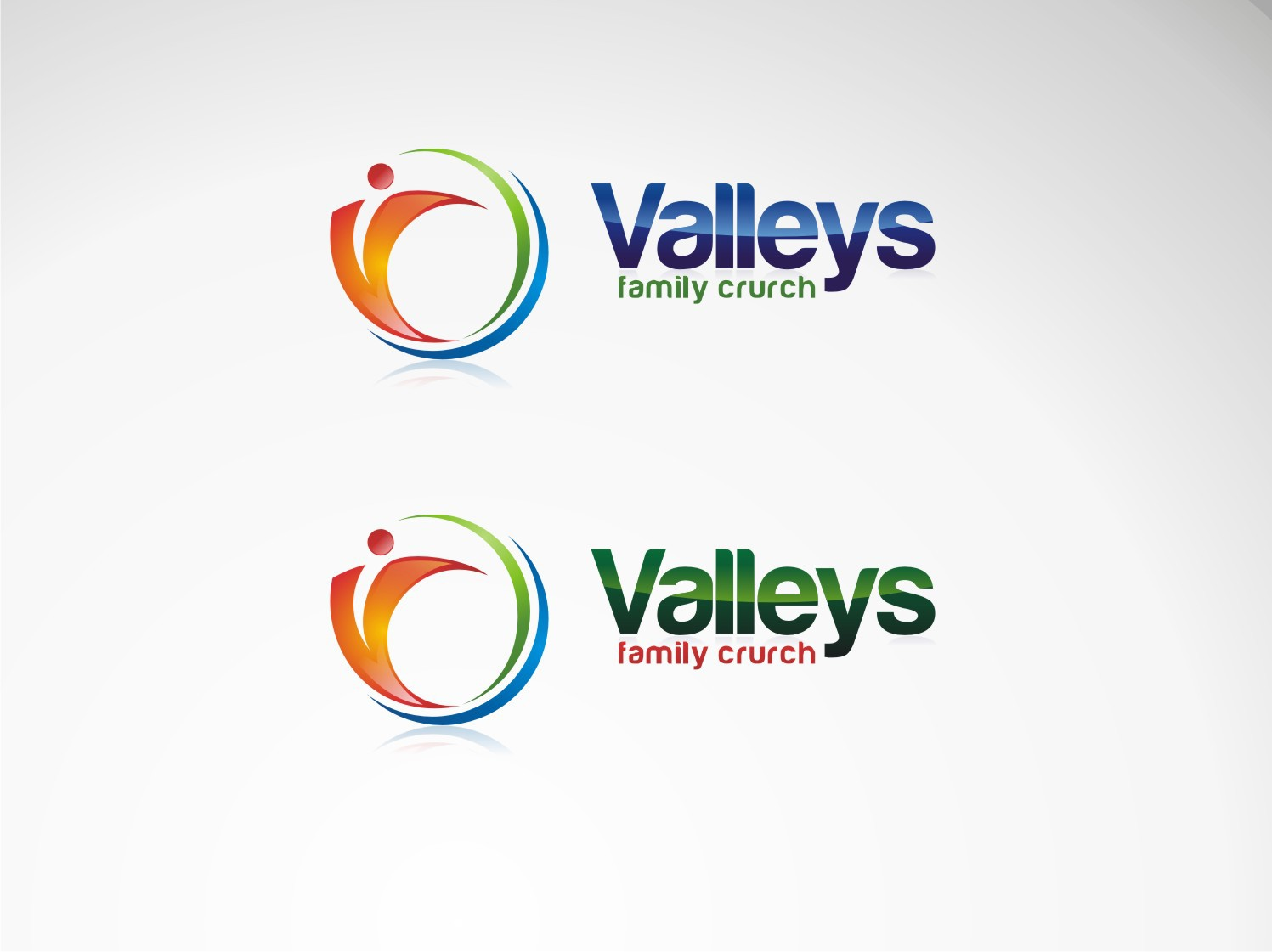 Create the next logo for Valleys Family Church