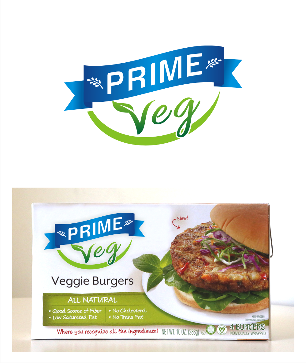 *Veggie Burgers!* Let's make an Awesome Logo together!