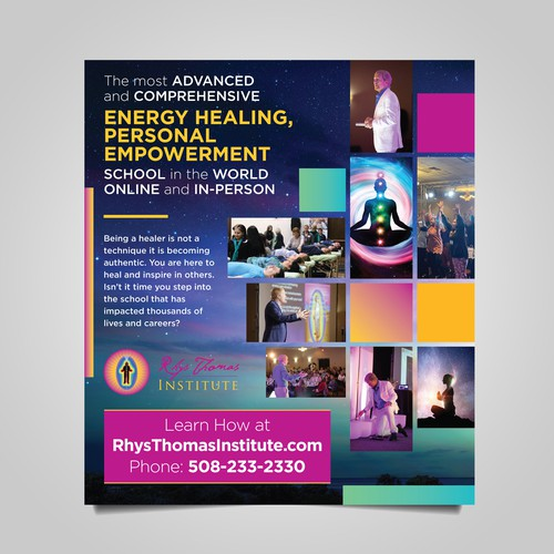 Energy Medicine School Advertisement