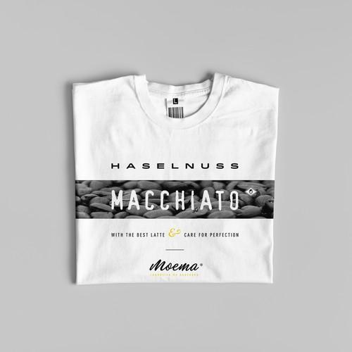 T-Shirt- und Taschen-Design für Berliner Kaffee-Startup