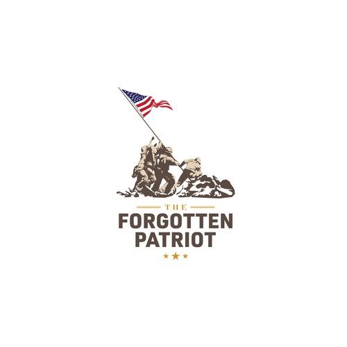 Patriotic logo for apparel