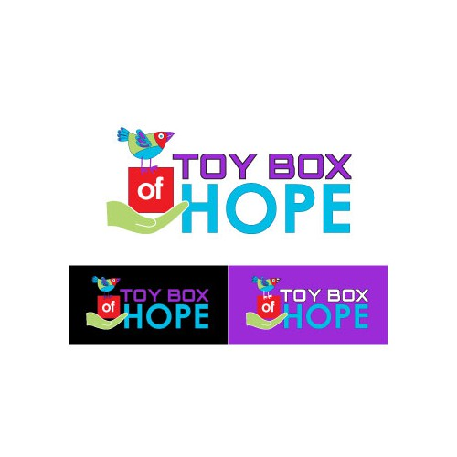 Toy Box of Hope needs a new logo
