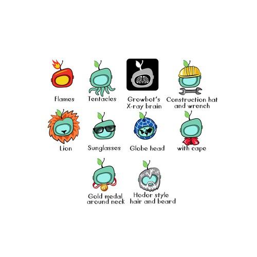 Icons for Slack