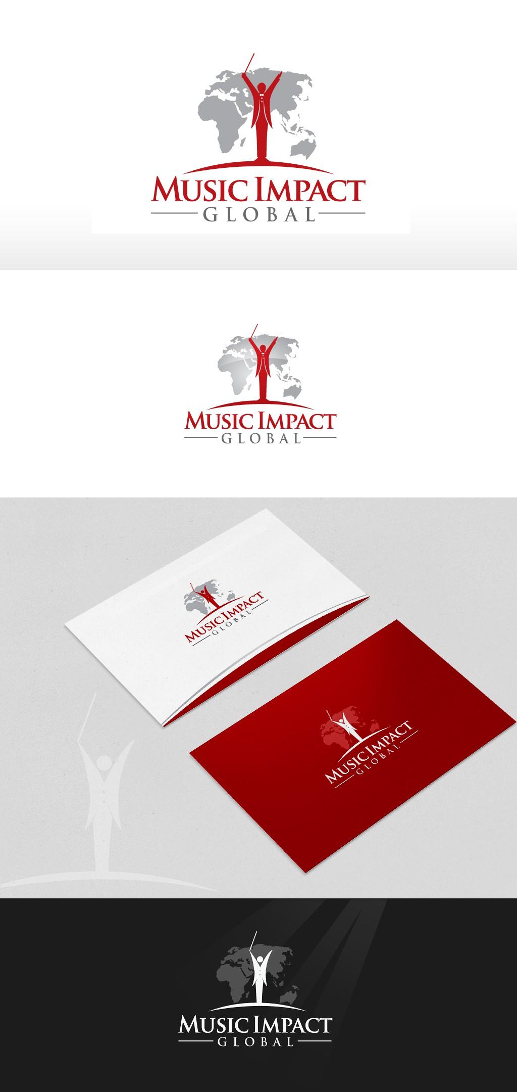 Logo creation challenge for Music Impact Global