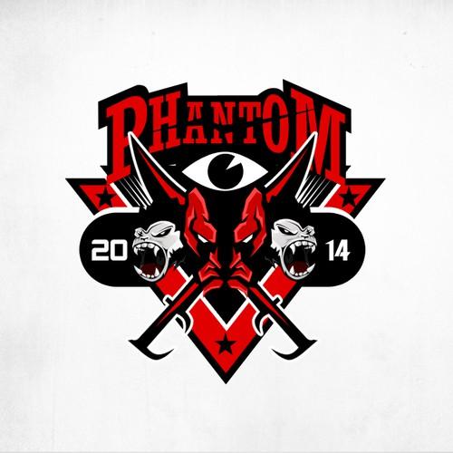 Phantom 2014! Norwegian Russ graduation party logo!