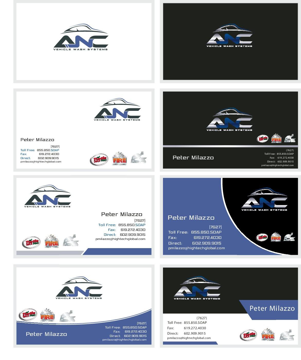 ANC Business Card Design