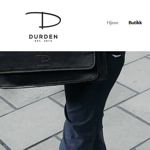 Logo for a Fashion Norwegian Brand: www.durden.no