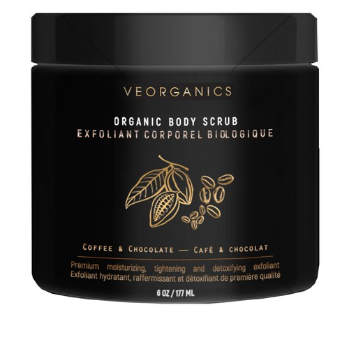 Elegant and simple design for body scrub