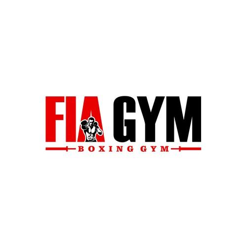 FIA GYM logo designs