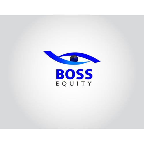 Logo rebrand for Boss Equity