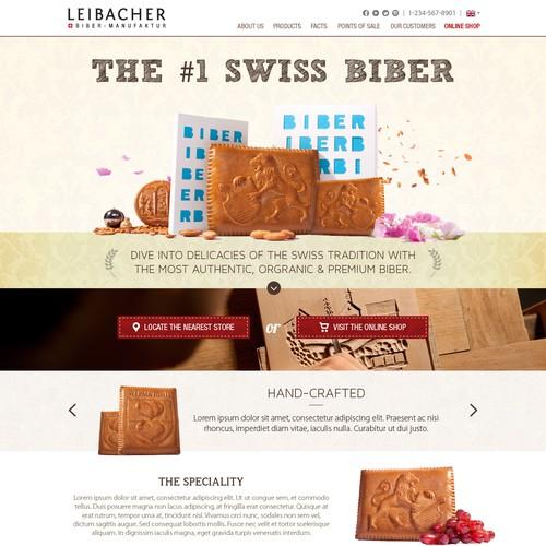 Leibacher; Homepage Design
