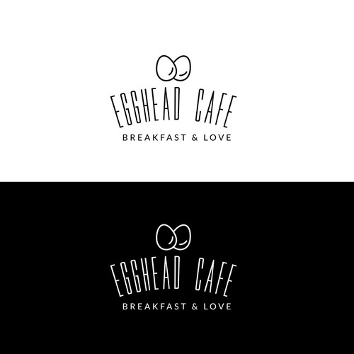Logo design for Eggead Cafe