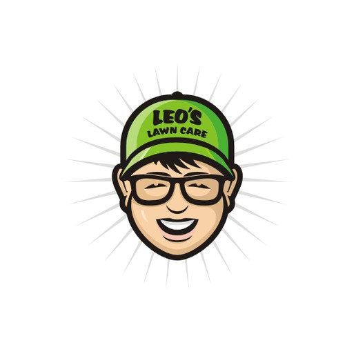 "11 year old entrepreneur ""Leo's Lawn Care"" needs a simple logo"