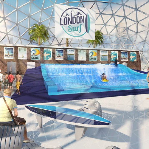 Indoor Surf Dome