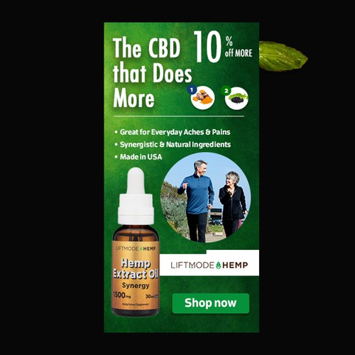 banner add for cbd oil