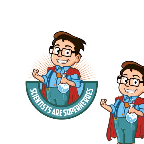 Scientists Are Superheroes