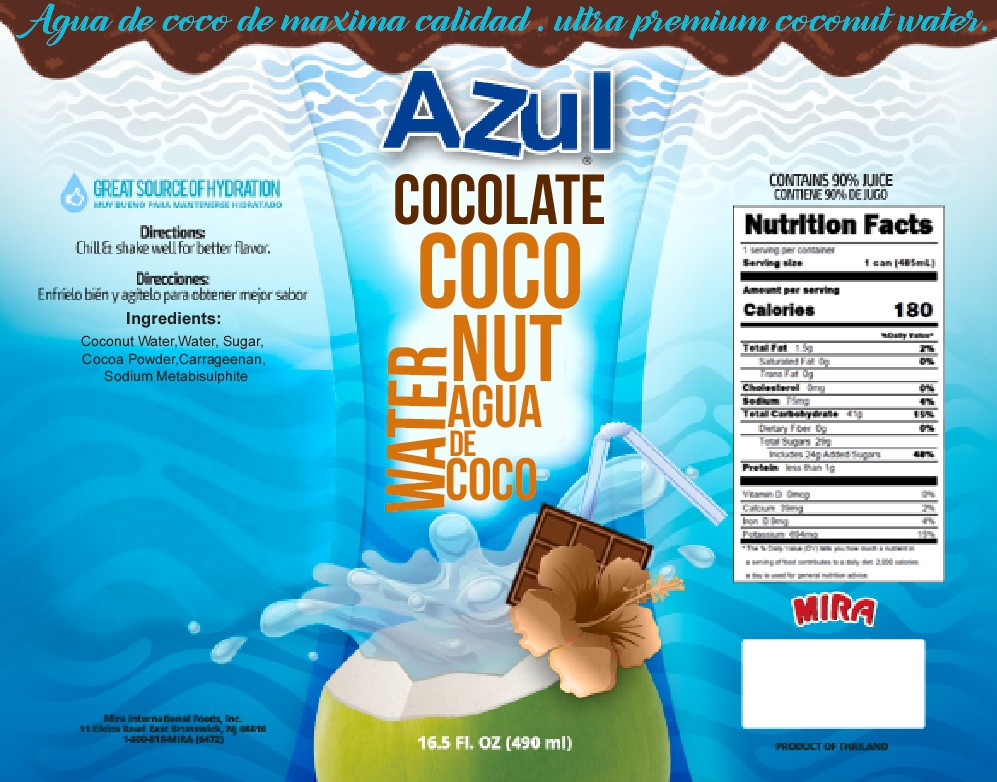 Help Create A Product Flavor Extension  - Chocolate Coconut Water