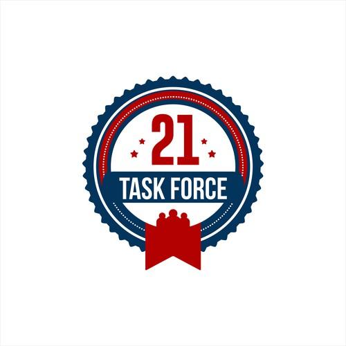 EMBLEM LOGO TASK FORCE 21