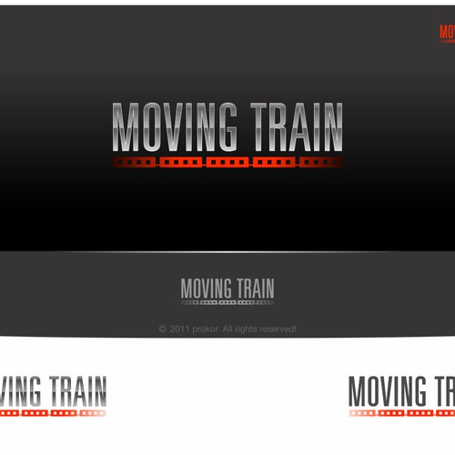 Create the next logo for Moving Train