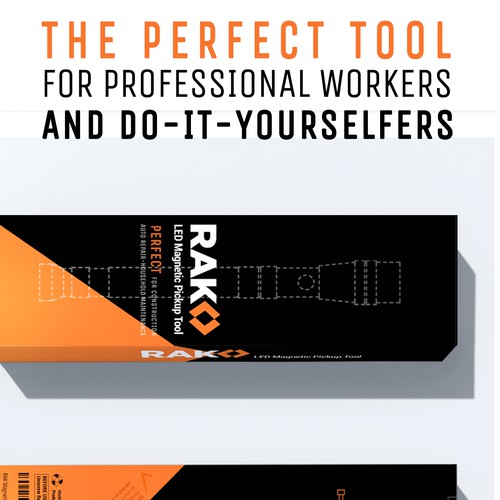 Packaging design for a tool box