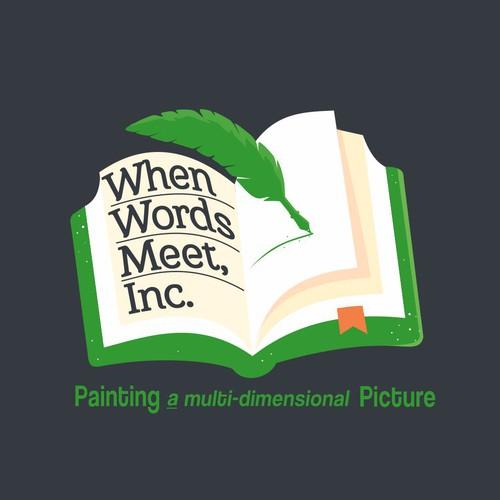 Logo For When Words Meet, Inc.