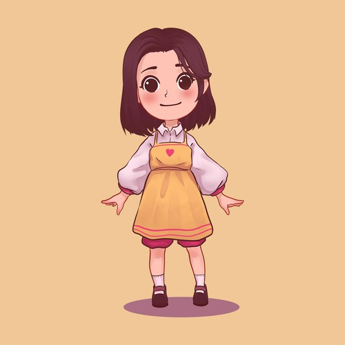 Character concept for short story Animation