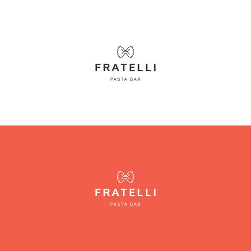 Logo design for FRATELLI PASTA BAR