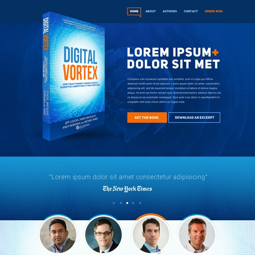 Digitally themed book website for IMD and Cisco!