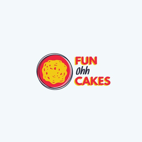 Fun, bold logo for funnel cake store