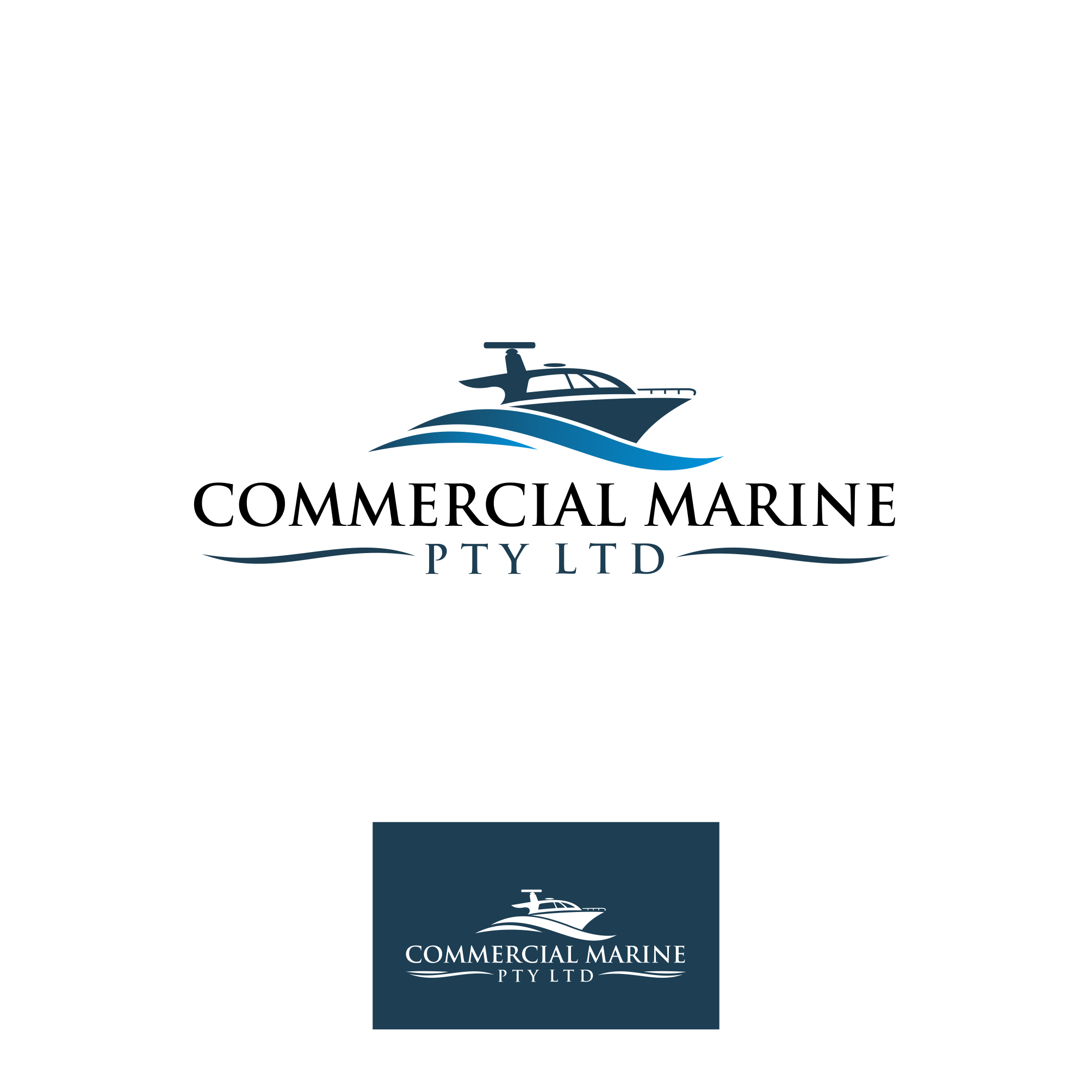 New logo wanted for Commercial Marine Pty Ltd