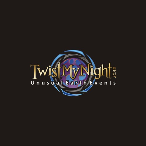 3D moving hypnotizing logo wanted for TwistMyNight.com