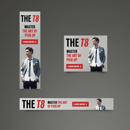 Banner design for THE T8