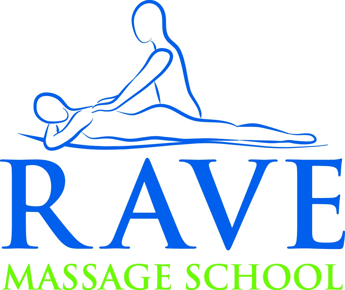 Design logo for Rave Massage School
