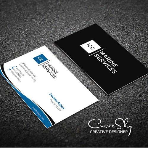Curve Business Card