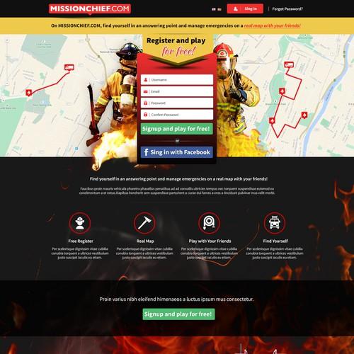 Missionchief.com Landing Page
