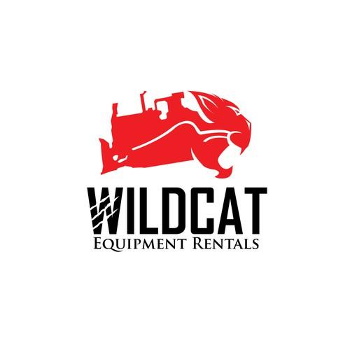 Winner Wildcat logo design