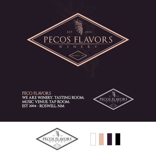 Pecos Flavors Winery Design