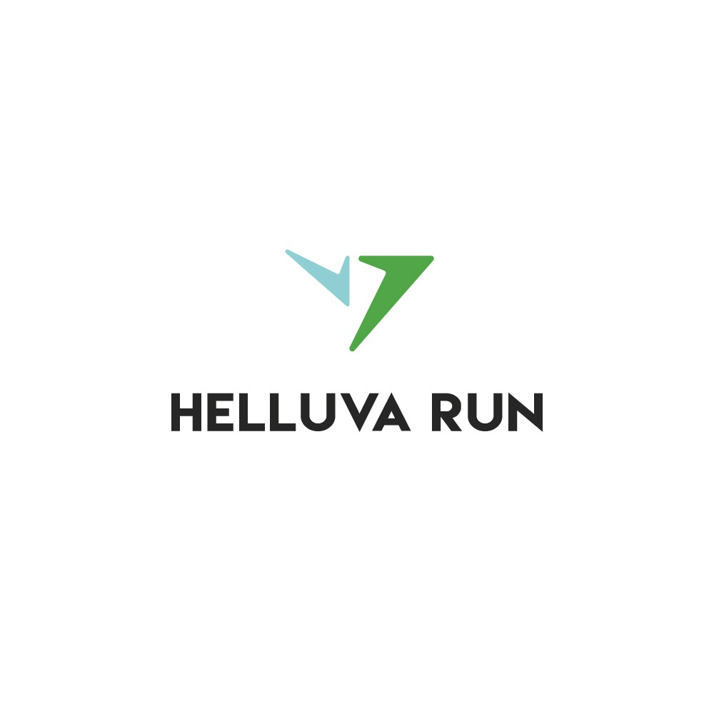Create a compelling logo for online Running Community