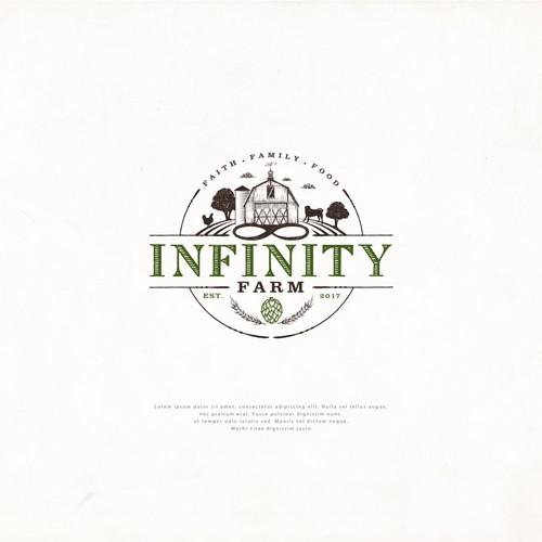 Logo Design for Infinity Farm