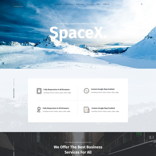 WordPress Theme Design Project