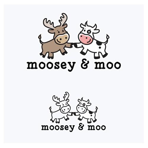 Moosey & Moo Logo
