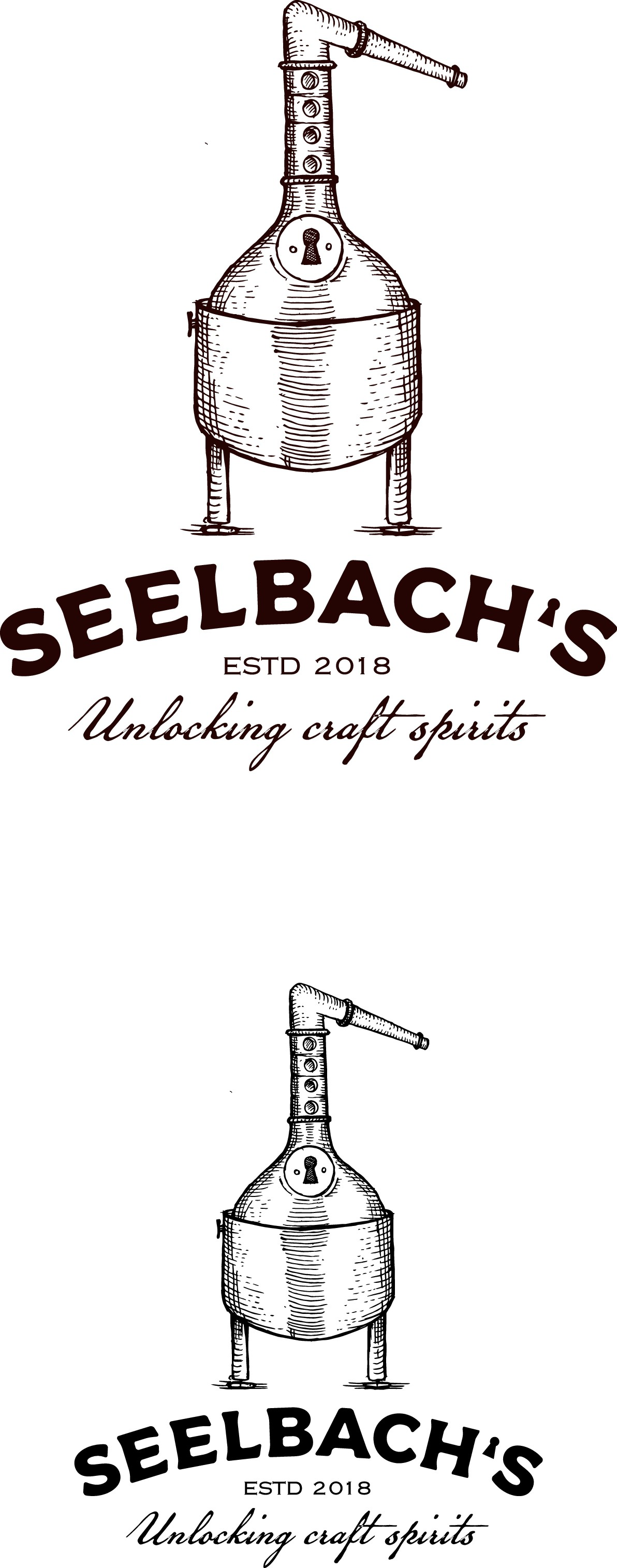 Logo for a retailer of craft distilleries