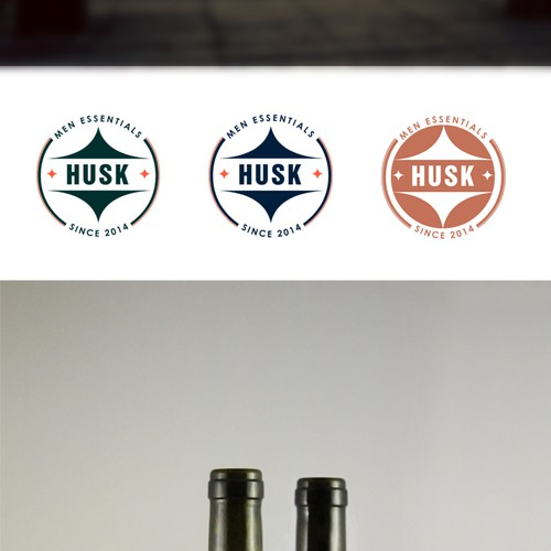 Design logo for Men Skincare Brand