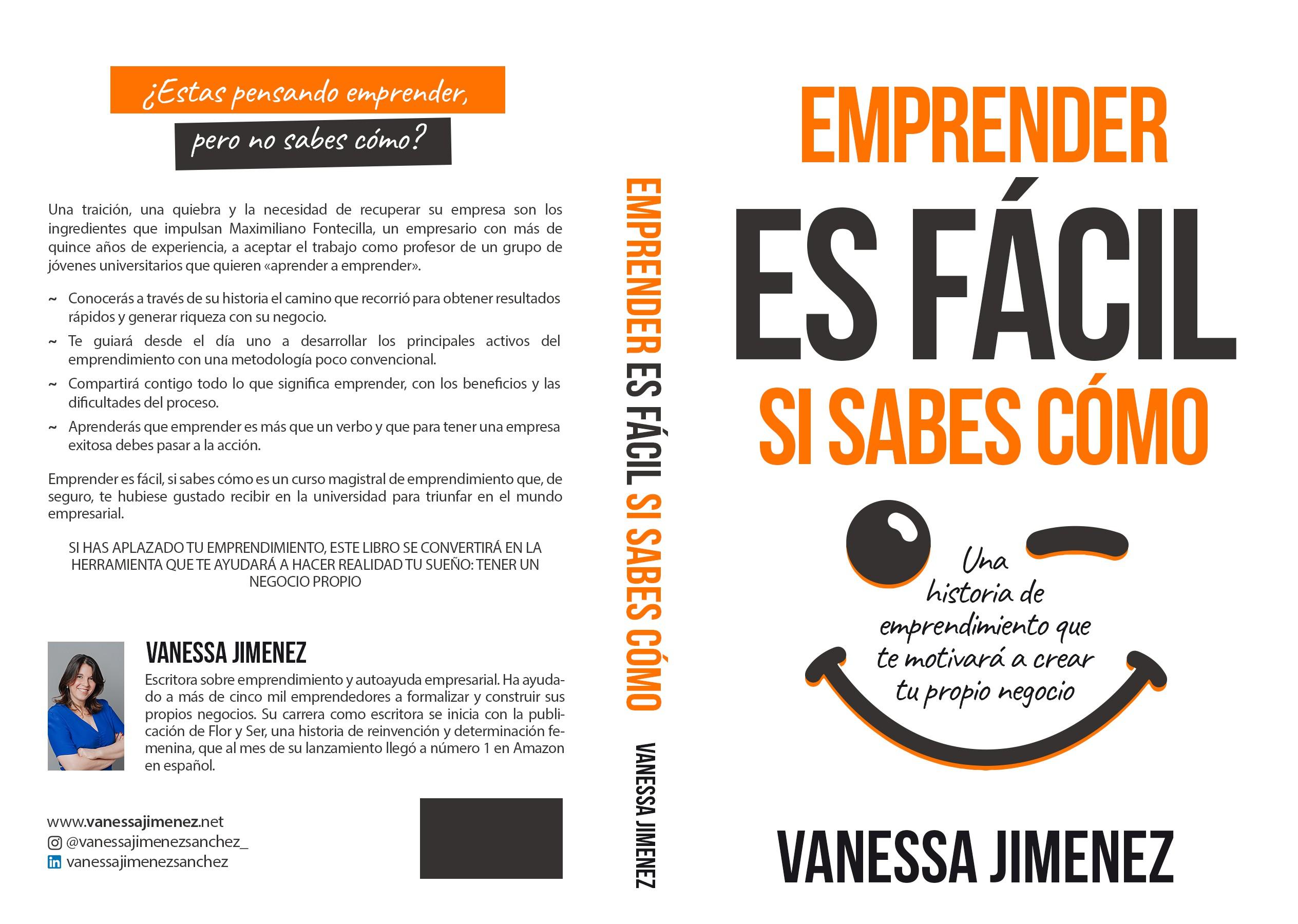 Diseño de portada para emprendedores