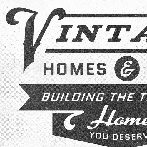Vintage-inspired logo for home & design co.