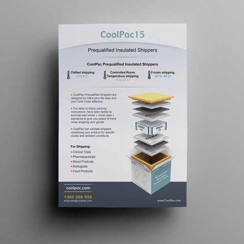 CoolPac15 Temperature Controlled Packaging Brochure