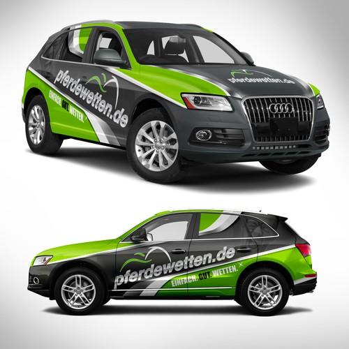 SUV Wrap Design