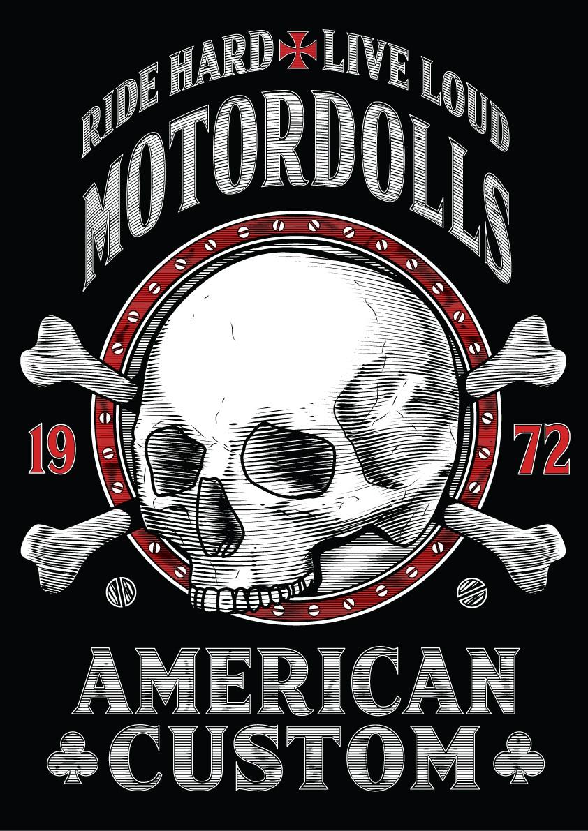 MOTORDOLLS SKULL CLUB